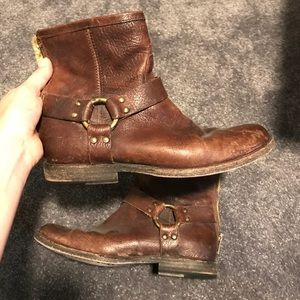 Frye Harness Ankle Boot